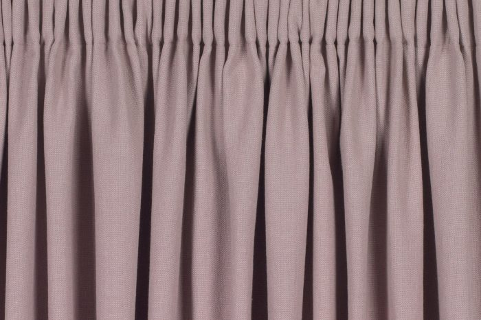 Pencil pleat